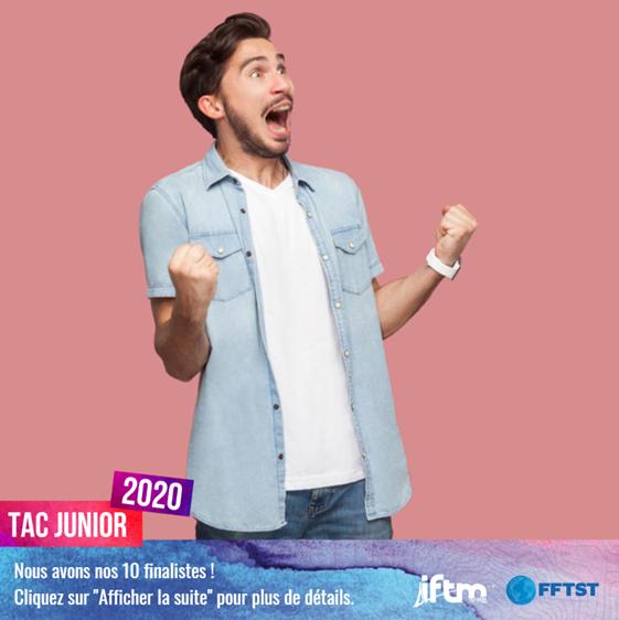 Annonce des finalistes de la TAC Junior 2020