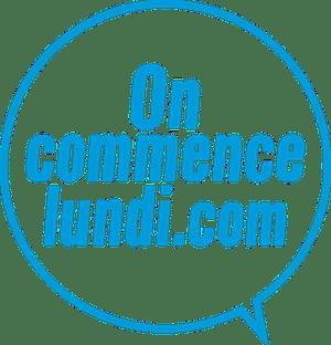 logo du site oncommencelundi.com